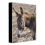 Adorable Donkey 3 Ring Binder