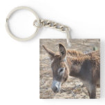 Adorable Donkey Keychain