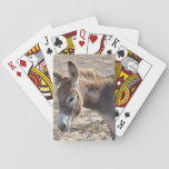 Adorable Donkey Playing Cards