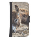 Adorable Donkey Wallet Phone Case For Samsung Galaxy S4