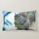 Adorable Squirrel Lumbar Pillow