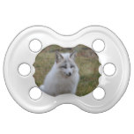 Adorable White Fox Pacifier
