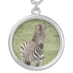Baby Zebra Necklace