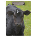 Black Baby Calf Clipboard