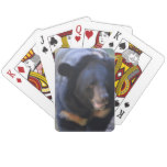 Black Spectacled Bear Playing Cards