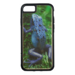Blue Poison Arrow Frog Carved iPhone 8/7 Case