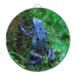 Blue Poison Arrow Frog Dartboard