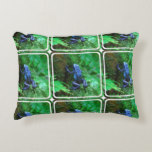 Blue Poison Arrow Frog Decorative Pillow