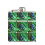 Blue Poison Arrow Frog Flask