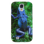 Blue Poison Arrow Frog Galaxy S4 Case