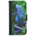 Blue Poison Arrow Frog iPhone 6/6s Wallet Case