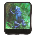 Blue Poison Arrow Frog Luggage Handle Wrap