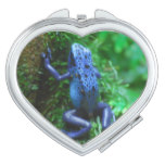 Blue Poison Arrow Frog Mirror For Makeup