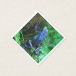 Blue Poison Arrow Frog Napkin