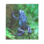 Blue Poison Arrow Frog Notepad