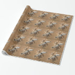 Cute Giraffe Wrapping Paper