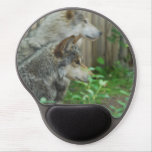 Cute Wolves Gel Mouse Pad