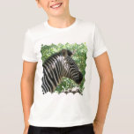 Cute Zebra Kid's T-Shirt