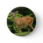 Deer Round Button