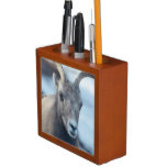 Face of a Bighorn Sheep Pencil/Pen Holder