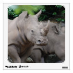 Friendly Rhino Wall Sticker
