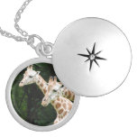 giraffe-120.jpg silver plated necklace