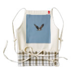 Gliding Osprey Zazzle HEART Apron