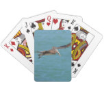 Gliding Pelican Playing Cards