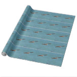 Gliding Pelican Wrapping Paper