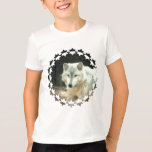Gray Wolf Kid's T-Shirt
