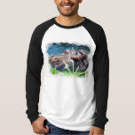 Hungry Hippo Men's Long Sleeve T-Shirt