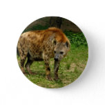 Hyena Prowl Round Button