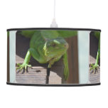 Iguana in the Tropics Hanging Lamp