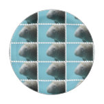 Large Manatee Underwater Paper Plate