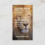 Lion Image Business Card