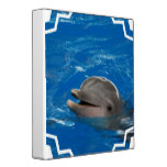 Lovable Dolphin 3 Ring Binder