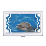 Lovable Dolphin Business Card Case