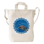 Lovable Dolphin Duck Bag