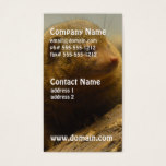 Mongoose a Tree Branch Business Card