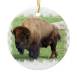 North American Bison Ornament