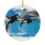 Orca Whales Ornament