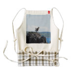 Osprey on Nest Zazzle HEART Apron