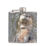 Otter Back Float Flask