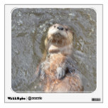 Otter Back Float Wall Decal