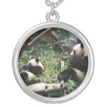 Panda Bears Necklace