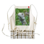 Peek-a-boo Iguana Zazzle HEART Apron