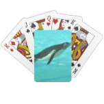 Penguin Swimming Underwater Playing Cards