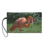 Perfect Pink Flamingo Wristlet Purse