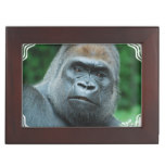 Perplexed Gorilla Keepsake Box