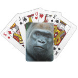 Perplexed Gorilla Playing Cards